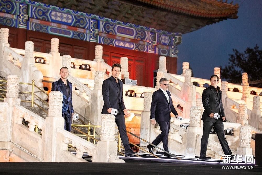 《碟中谍6:全面瓦解》中国首映 汤姆·克鲁斯秀中文